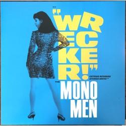"""MONO MEN """"Wrecker!"""" LP Color Blue."""