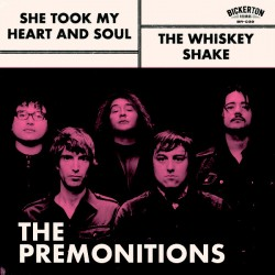 """PREMONITIONS """"She Took My Heart And Soul"""" SG 7""""."""