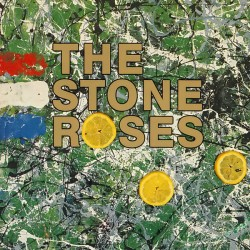 """STONE ROSES """"Stone Roses"""" LP Color Clear."""