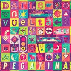 "LA PEGATINA ""Darle La Vuelta"" CD."