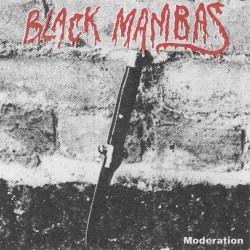 "BLACK MAMBAS ""Moderation"" LP."