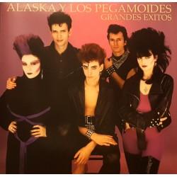 """ALASKA Y LOS PEGAMOIDES """"Grandes Exitos"""" LP Color."""