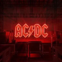 "AC/DC ""Power Up"" LP."