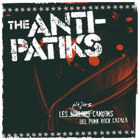 """ANTI-PATIKS """"Les Pitjors Cançons Del Punk Rock Català"""" LP Color."""