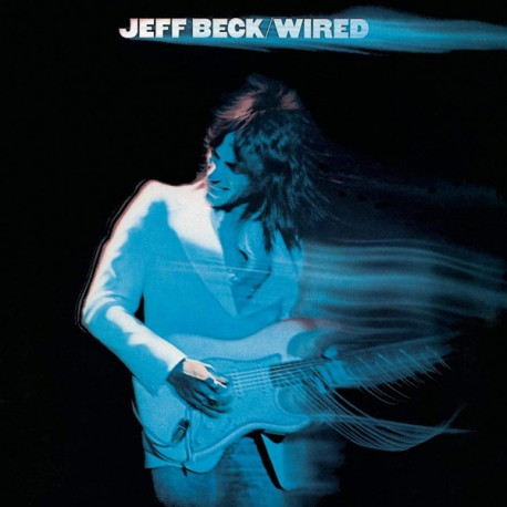 "JEFF BECK ""Wired"" LP Color Blueberry."