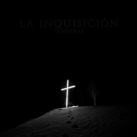 """LA INQUISICIÓN """"Tenevrae"""" LP Color Plata / Negro."""