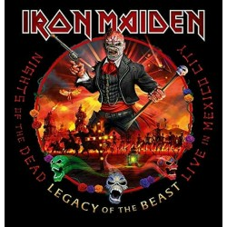 "IRON MAIDEN ""Nights Of The Dead - Live In Mexico City"" 2CD."