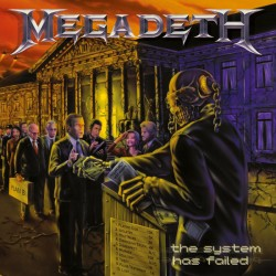"MEGADETH ""The System Has Failed"" LP."
