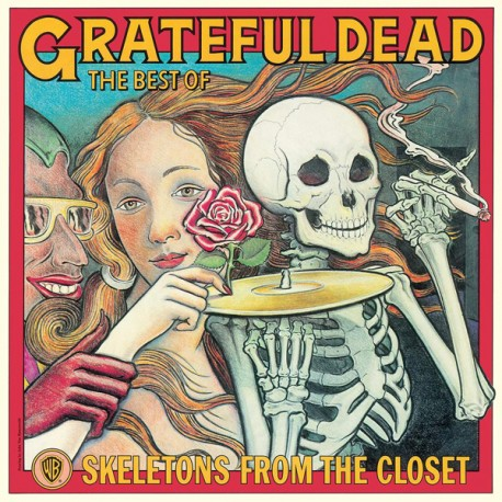 """GRATEFUL DEAD """"The Best Of - Skeletons From The Closet"""" LP."""