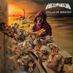 "HELLOWEEN ""Walls Of Jericho"" LP."