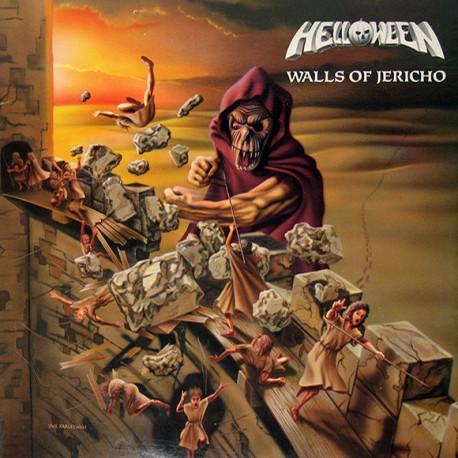 "HELLOWEEN ""Walls Of Jericho"" LP."