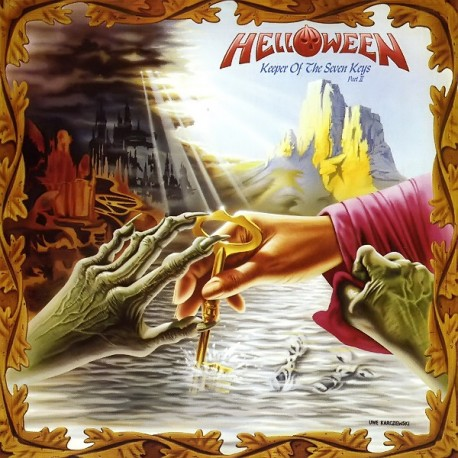 "HELLOWEEN ""Keeper Of The Seven Keys Part II"" LP."