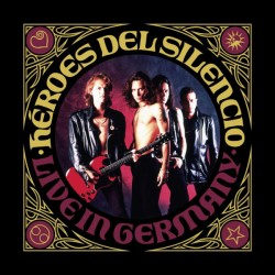 """HEROES DEL SILENCIO """"Live In Germany"""" 2LP + CD."""