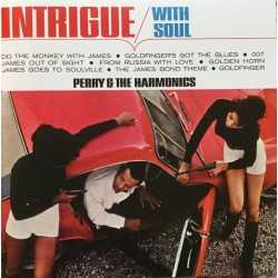 """PERRY & THE HARMONICS """"Intrigue With Soul"""" LP."""