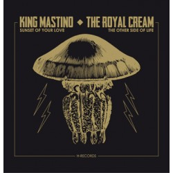 "KING MASTINO / ROYAL CREAM ""Split"" SG 7"""