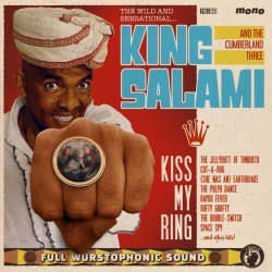 "KING SALAMI & THE CUMBERLAND THREE ""Kiss My Ring"" LP."
