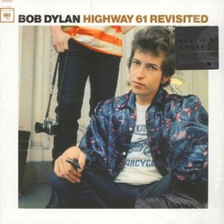 "BOB DYLAN ""Highway 61 Revisited"" LP Color."
