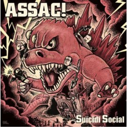 "ASSAC! ""Süicidi Social"" LP Color H-Records"