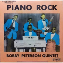 "BOBBY PETERSON QUINTET ""Piano Rock"" LP"