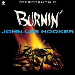 """JOHN LEE HOOKER """"Burnin'"""" LP Waxtime"""