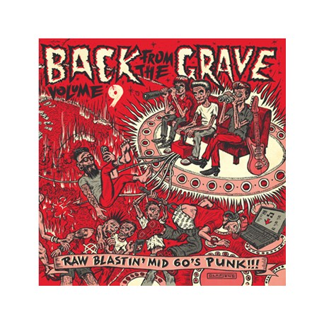 """VV.AA. """"Back From The Grave Vol. 9"""" LP Crypt"""
