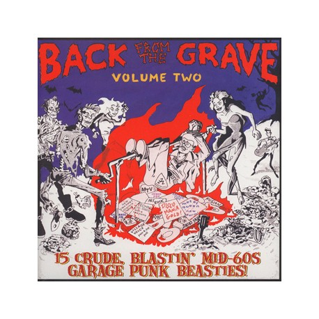 """VV.AA. """"Back From The Grave Vol. 2"""" LP Crypt"""