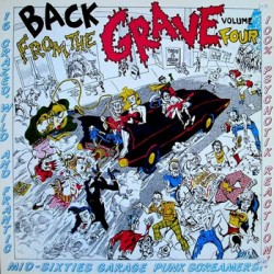 "VV.AA. ""Back From The Grave Vol. 4"" LP Crypt"