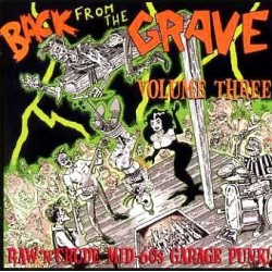 "VV.AA. ""Back From The Grave Vol. 3"" LP Crypt"
