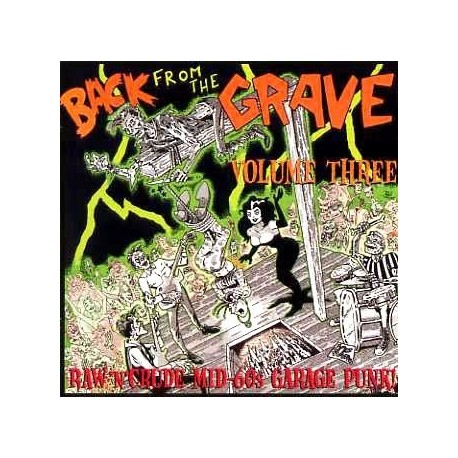 """VV.AA. """"Back From The Grave Vol. 3"""" LP Crypt"""