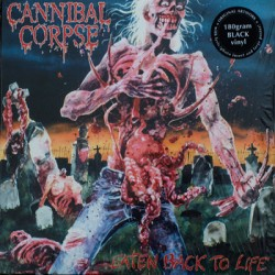 "CANNIBAL CORPSE ""Eaten Back To Life"" LP 180 Gramos"