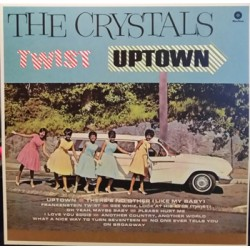 "CRYSTALS ""Twist Uptown"" LP Waxtime"