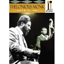 "THELONIOUS MONK ""Live In '66"" DVD"