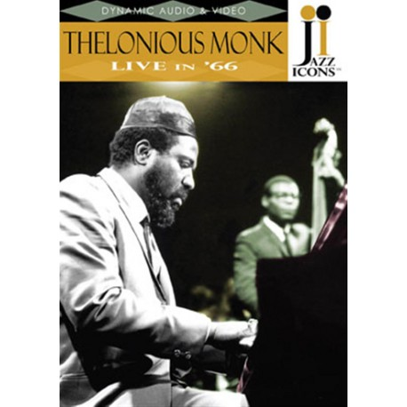 """THELONIOUS MONK """"Live In '66"""" DVD"""