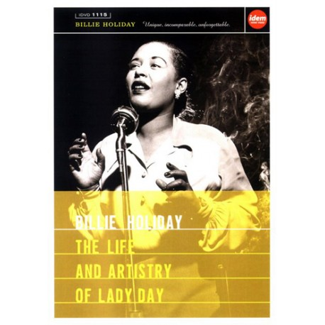 "BILLIE HOLIDAY ""The Life And Artistry Of Lady Day"" DVD"