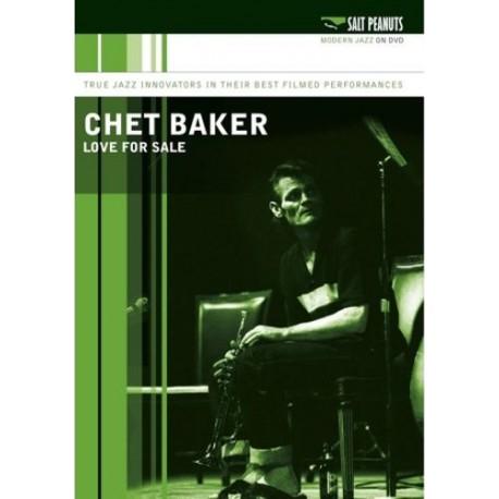 """CHET BAKER """"Love For Sale"""" DVD"""