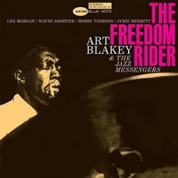 "ART BLAKEY & THE JAZZ MESSENGERS ""Freedom Rider"" LP Blue Note"