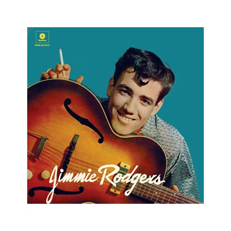 """JIMMIE RODGERS """"S/t"""" LP 180 Gramos"""