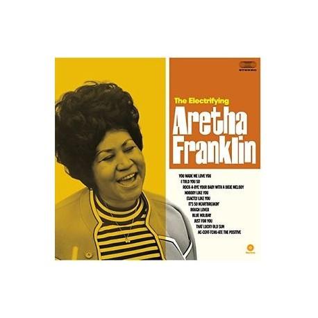 """ARETHA FRANKLIN """"The Electrifying Aretha"""" LP Waxtime"""