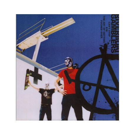 """RIVERBOAT GAMBLERS """"Can't Stop The Whoa"""" SG 7"""" H-Records"""
