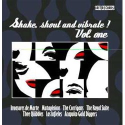 """VV.AA. """"Shake, Shout And Vibrate"""" LP"""