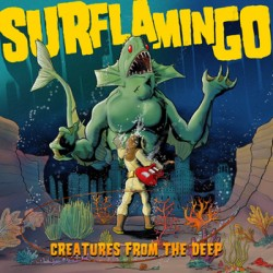 "SURFLAMINGO ""Creatures From The Deep"" CD"
