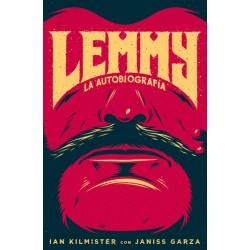 """LEMMY KILMISTER """"La Autobiografía"""" LIBRO Motörhead"""