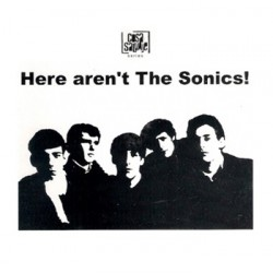"VV.AA. ""Here Aren't The Sonics"" CD Sonics Tributo"