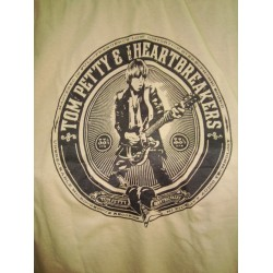 CAMISETA TOM PETTY & HEARTBREAKERS Marrón Logo