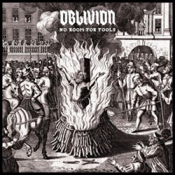 "OBLIVION ""No Room For Fools"" LP"