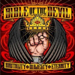"BIBLE OF THE DEVIL ""Brutality, Majesty, Eternity"" CD"