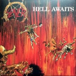 "SLAYER ""Hell Awaits"" LP Metal Blade"