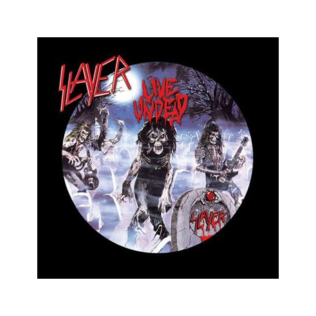 "SLAYER ""Live Undead"" LP Metal Blade"