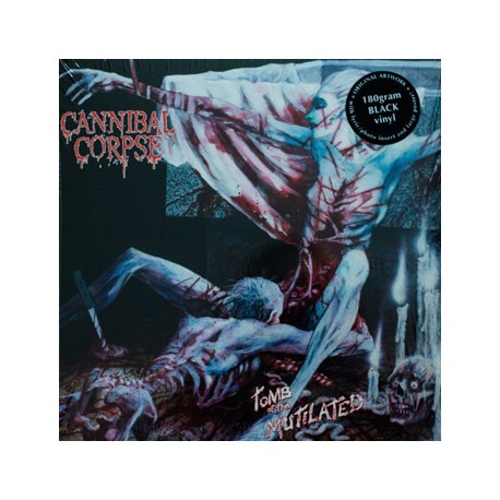 """CANNIBAL CORPSE """"Tomb The Mutilated"""" LP"""