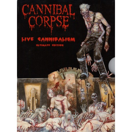 """CANNIBAL CORPSE """"Live Cannibalism"""" DVD"""